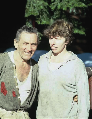 Emil and Penny Keck, ca 1976. Photo courtesy Alan C