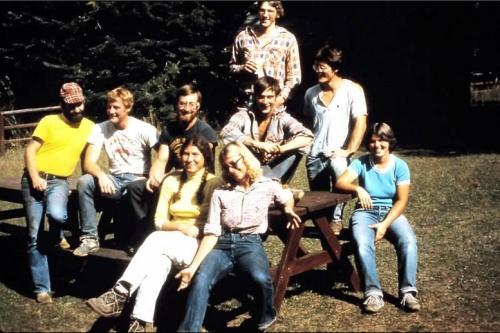 Work Crew at Moose Creek 1979